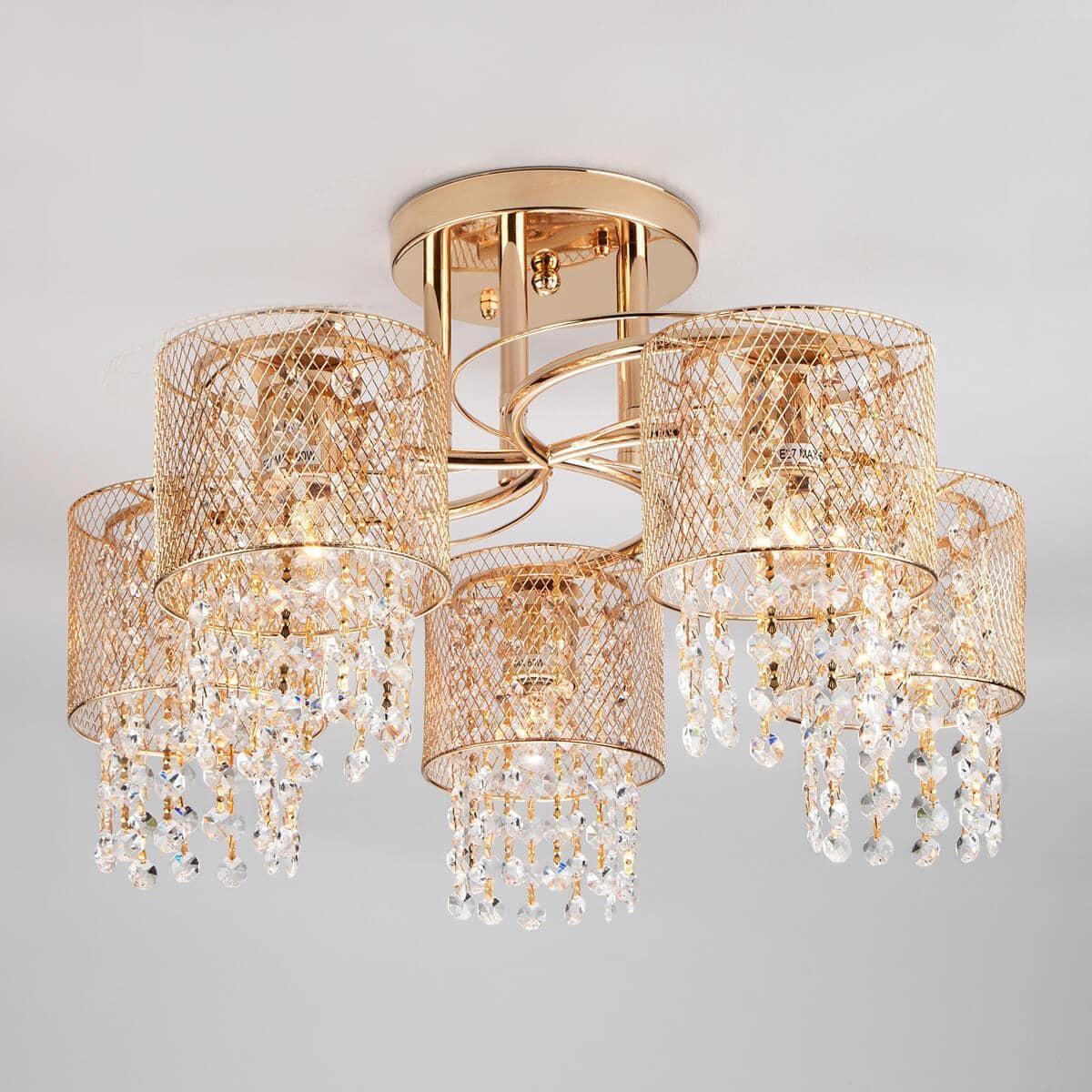 Потолочный светильник Eurosvet 30137/5 золото