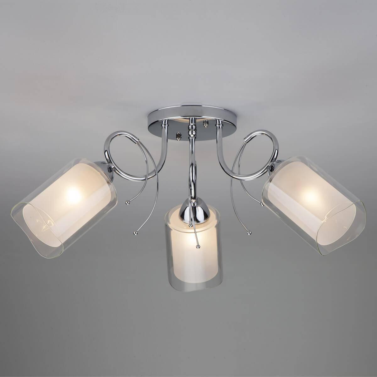 Потолочный светильник Eurosvet 30122/3 хром