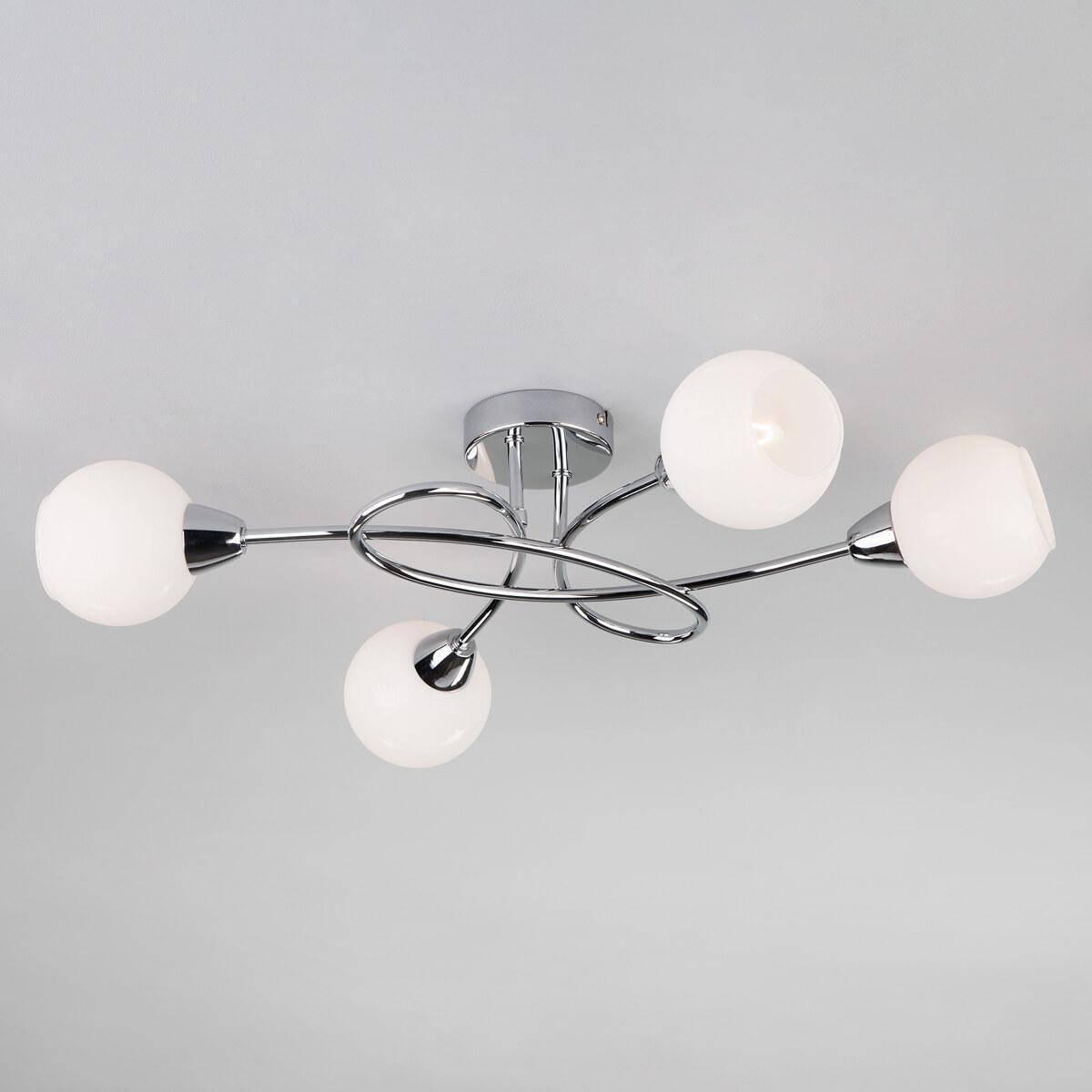 Потолочный светильник Eurosvet 30133/4 хром