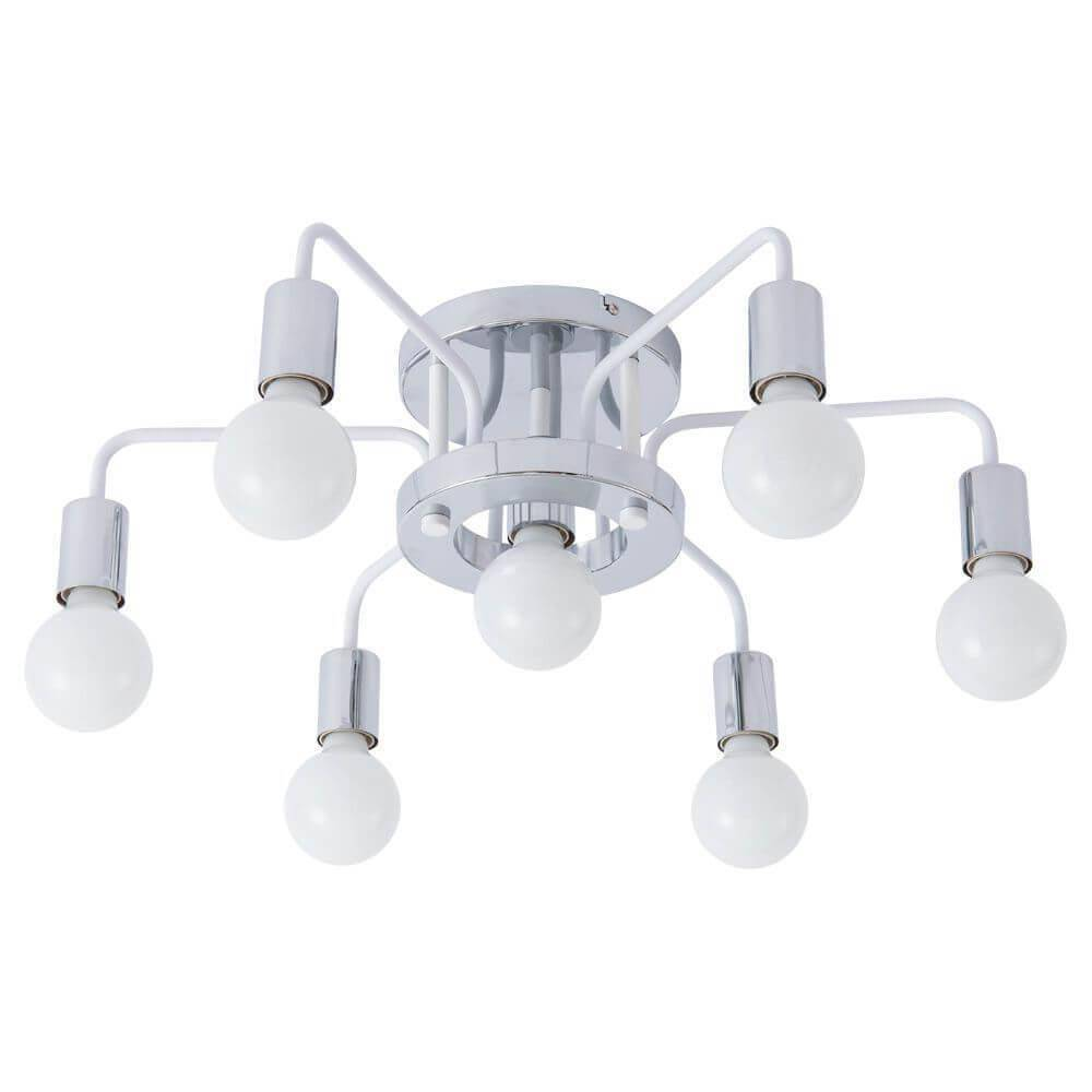Потолочная люстра Arte Lamp A6001PL-7WH