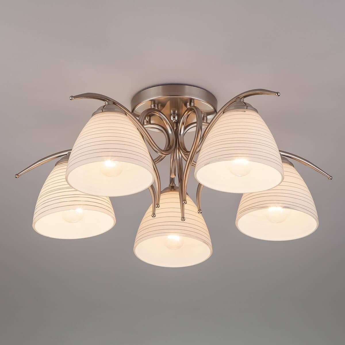 Потолочный светильник Eurosvet 30121/5 сатин-никель