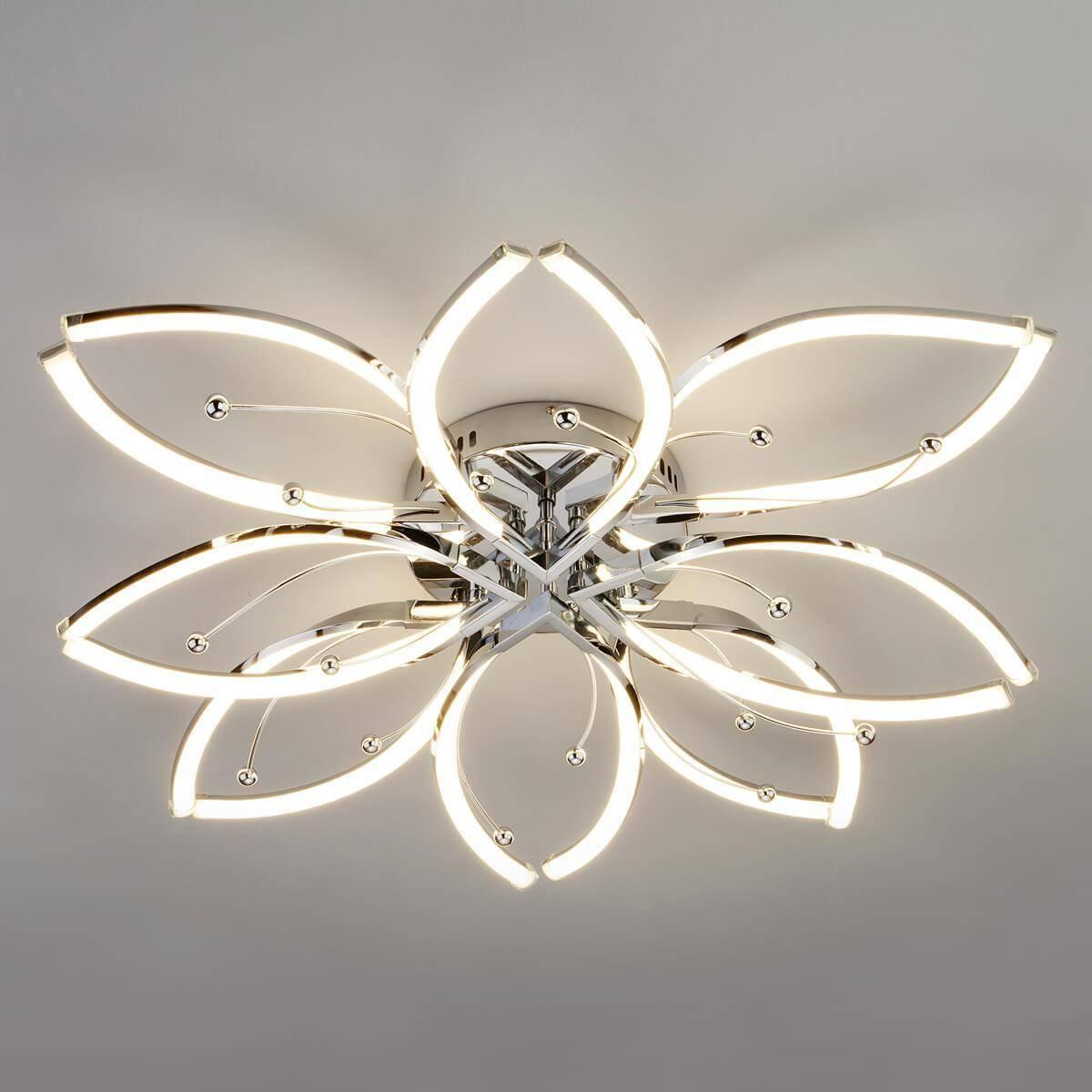 Потолочный светильник Eurosvet 90092/8 хром
