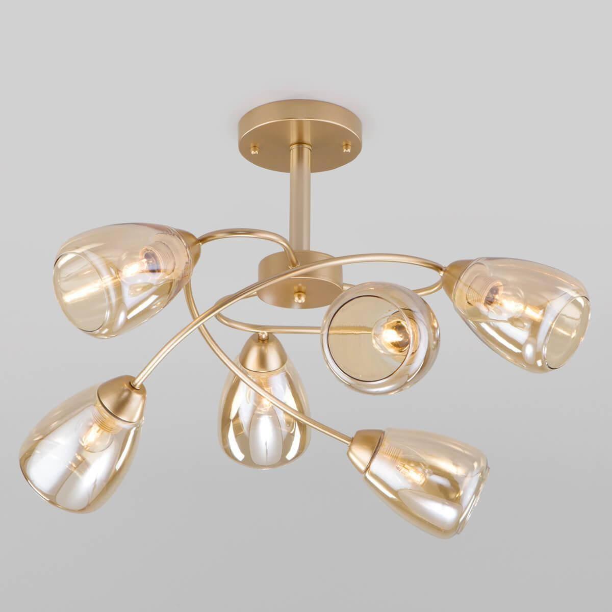 Потолочная люстра Eurosvet Noemi 30168/6 матовое золото