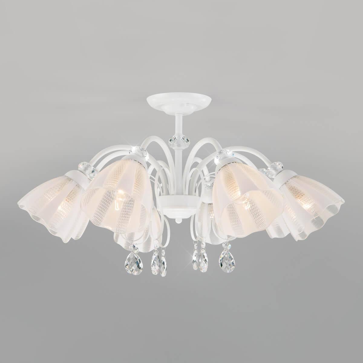 Потолочная люстра Eurosvet Floranse 30155/8 белый