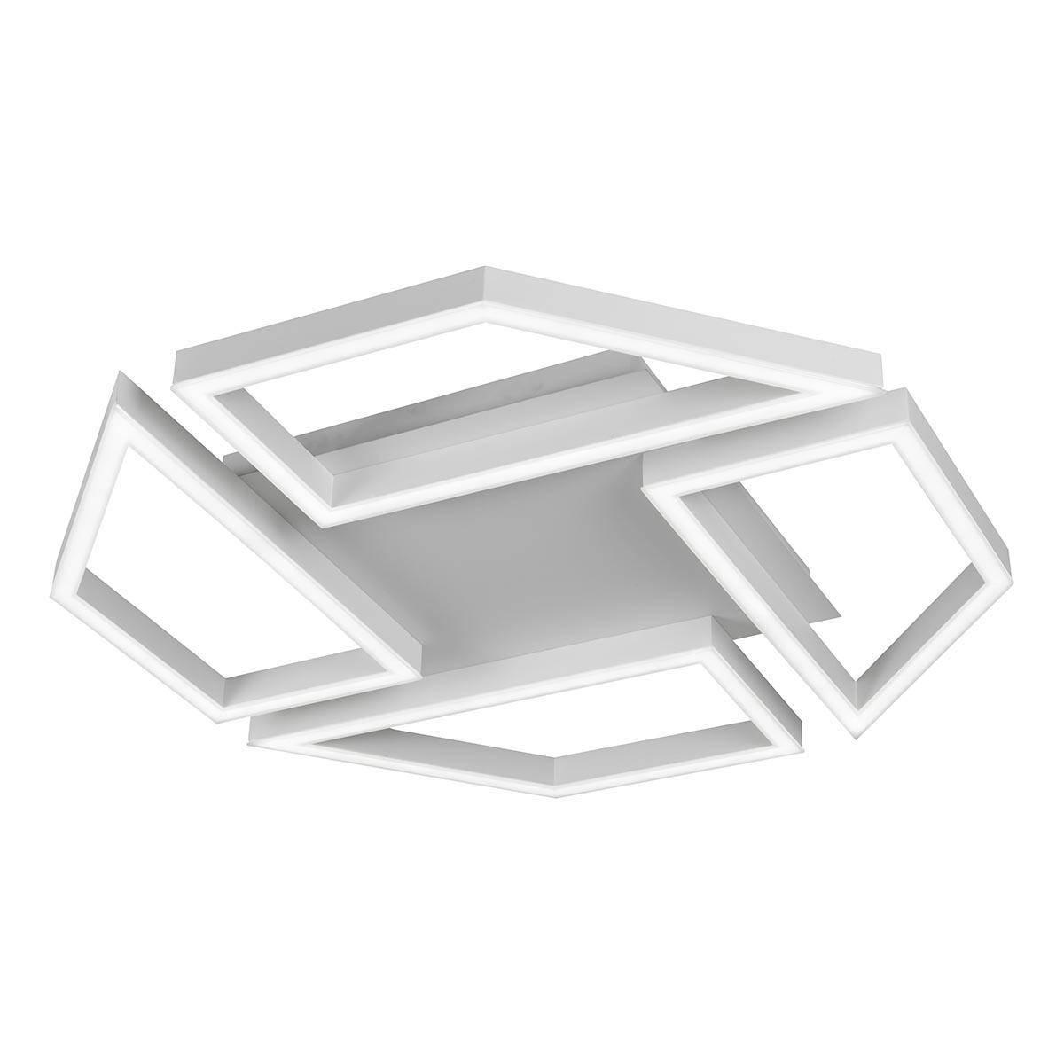 Потолочная светодиодная люстра iLedex Stellar 8302-720X720-X-T WH