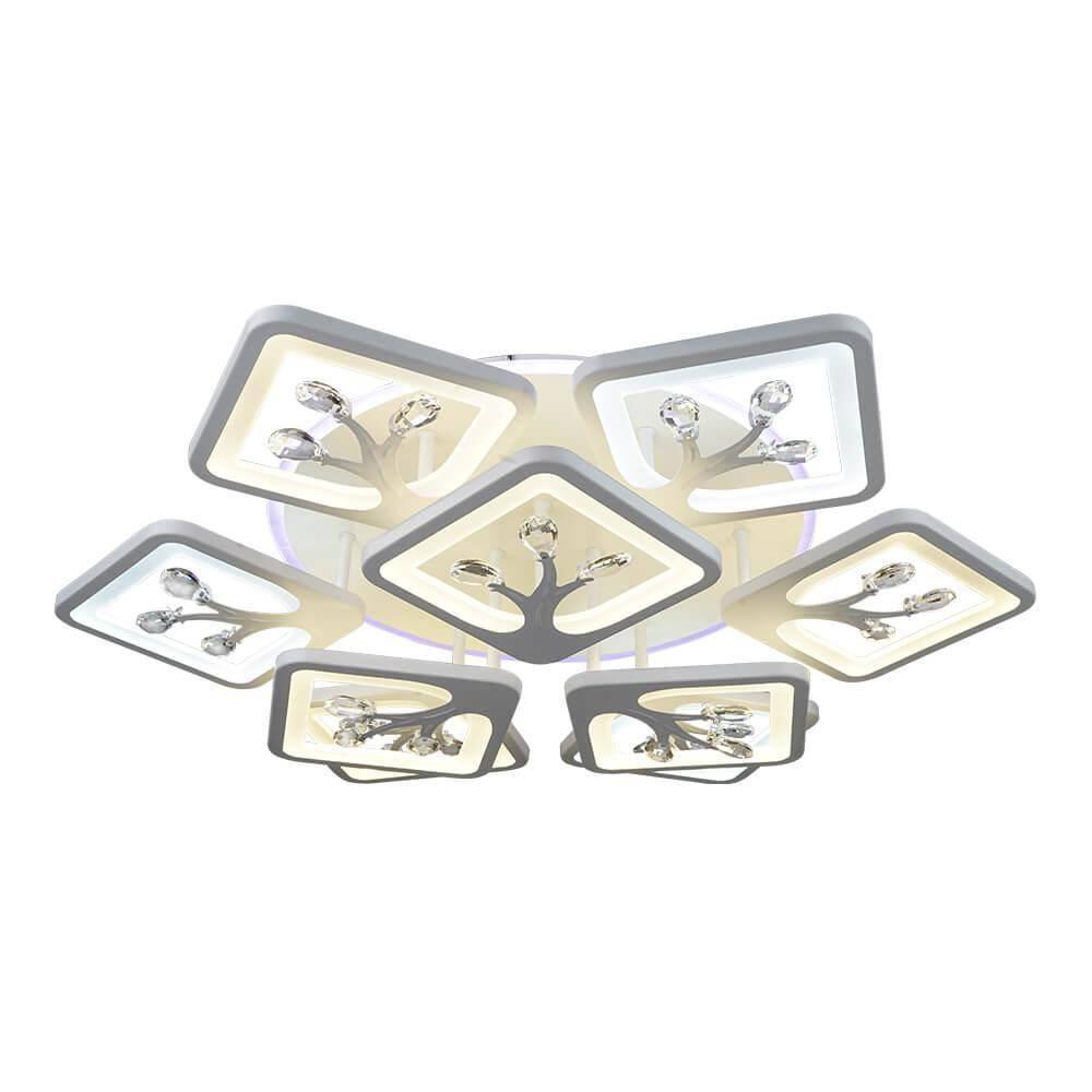 Потолочная светодиодная люстра Wedo Light Кариати 75342.01.09.09