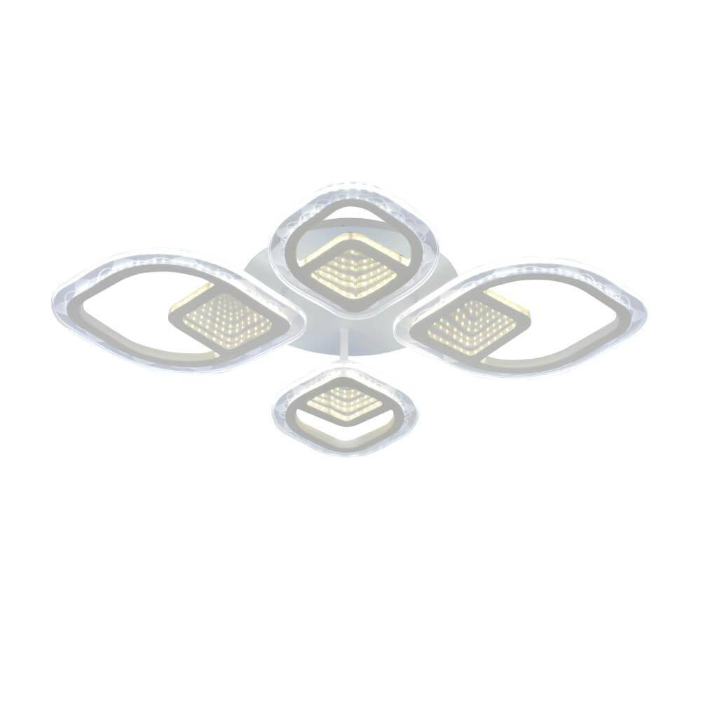 Потолочная светодиодная люстра Seven Fires Дайано SF7043/4C-CR