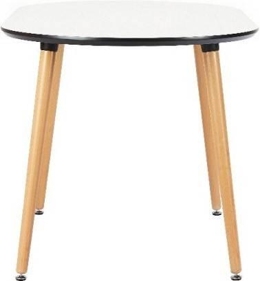 Купить Стол Brooklyn овальный овальный, массив бука, МДФ, 140 x 80 см, Варианты цвета: белый, фото 3